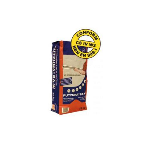 PTB waterafstotende pleister 'Putzuna BA-W' 25 kg