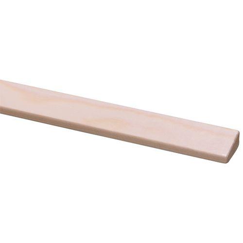 Glaslat grenen 10 x 19mm 270cm
