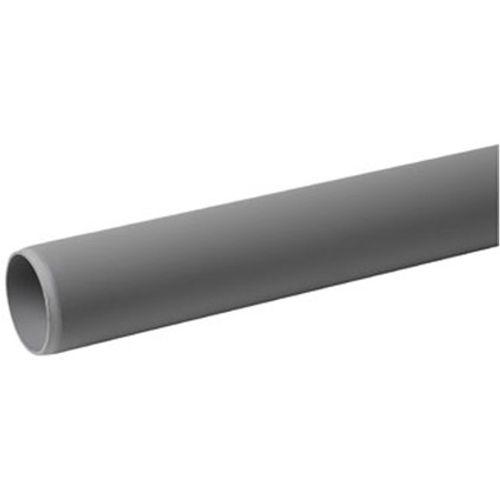 PPC buis niet verlijmbaar 50mm x 2 meter grijs