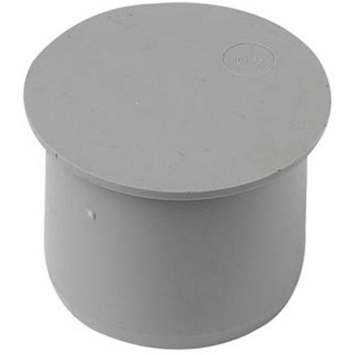 einddop niet verlijmbaar 32mm grijs