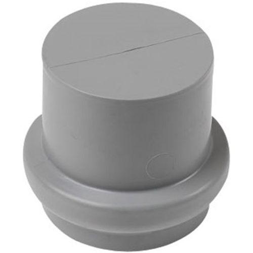 afsluitkap niet verlijmbaar 40mm grijs