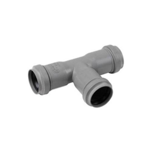 PPC T-stuk 90º niet verlijmbaar 50mm grijs