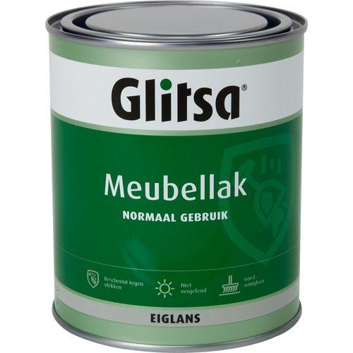 Glitsa meubellak zijdeglans blank 750ml