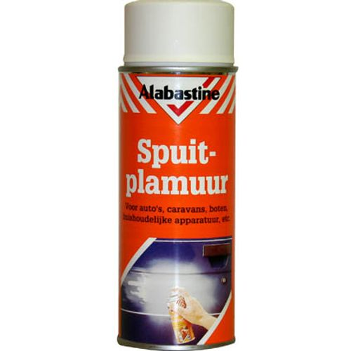 Alabastine spuitplamuur wit 400ml