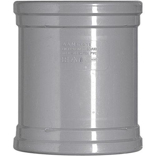 Martens overschuifmof 110mm 2xmm grijs