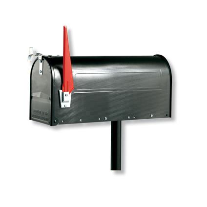 Poteau Burg Wächter pour 'U.S. Mailbox' noir