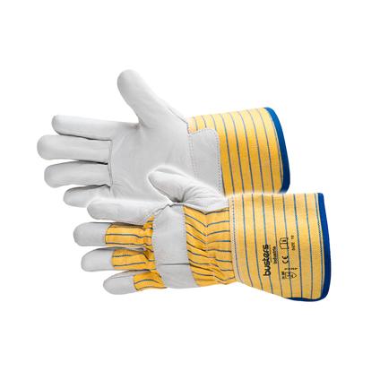 Busters handschoenen 'Industria' rundsnerfleder M10