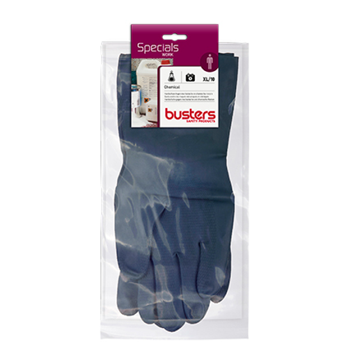 Busters handschoenen Chemical latex/neopreen M10 33 cm