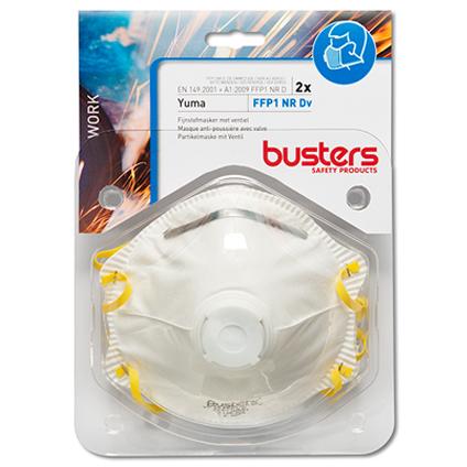 Busters stofmasker Yuma FFP1 NR Dv 2 stuks