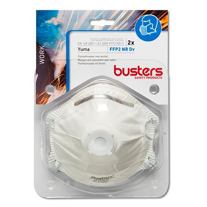 Busters stofmasker Yuma FFP2 NR Dv 2 stuks