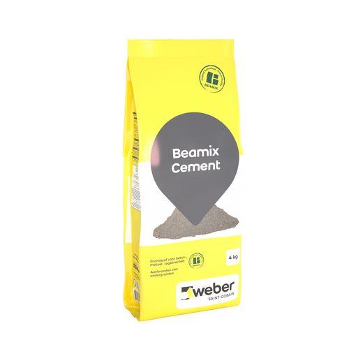 Beamix cement grijs 800 4kg