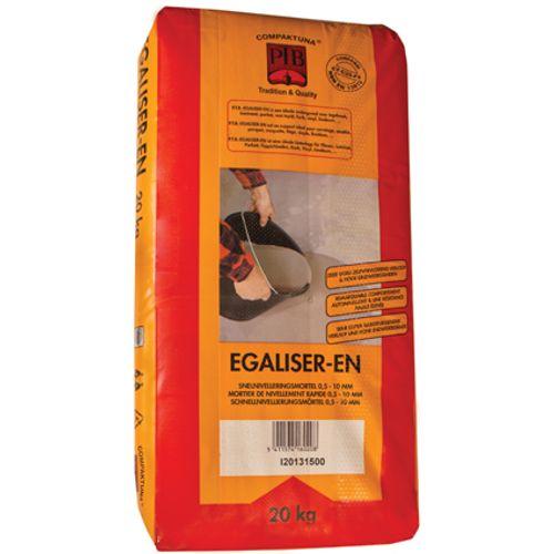 PTB-compaktuna snelnivelleringsmortel 'Egaliser-EN' 20 kg