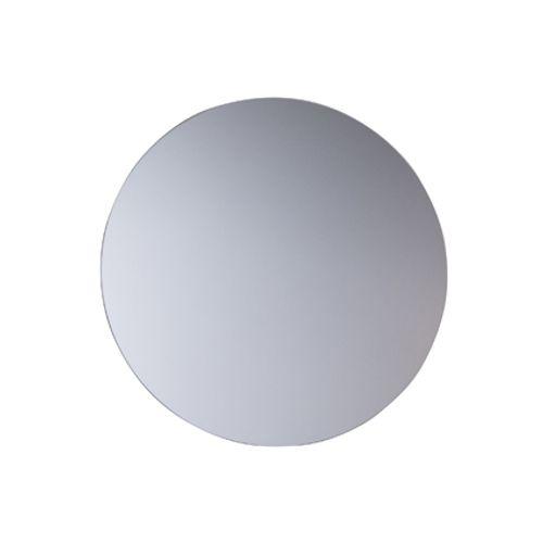 Miroir bords polis Pierre Pradel ronde diamètre 42 cm