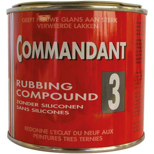 Commandant onderhoud nr 3 rubbing compound