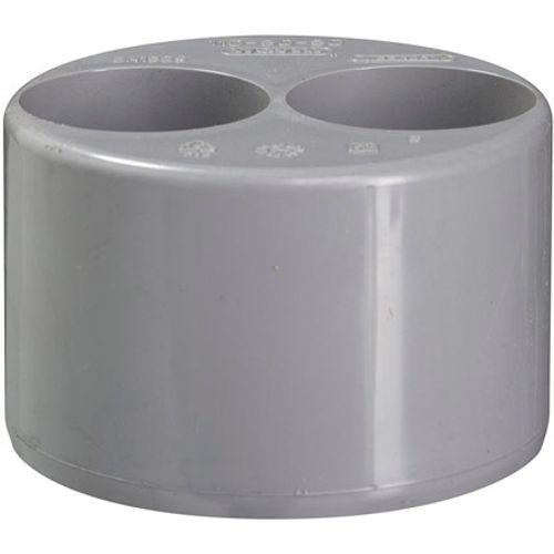 Martens verloop 110x40/40mm 2xlm grijs