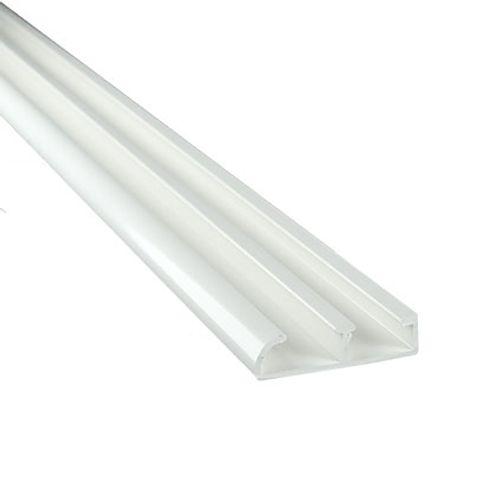 Mac Lean rail & roll geleidingsprofiel wit 200cm