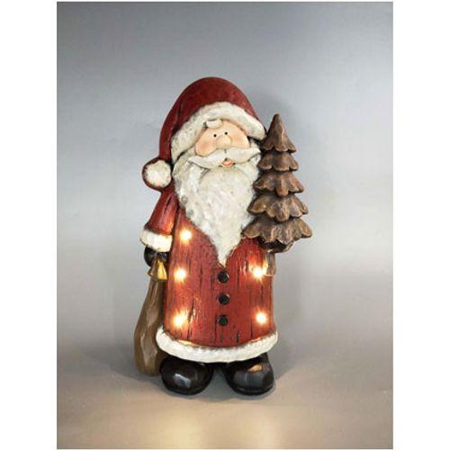 Père Noël LED Longyear 40cm