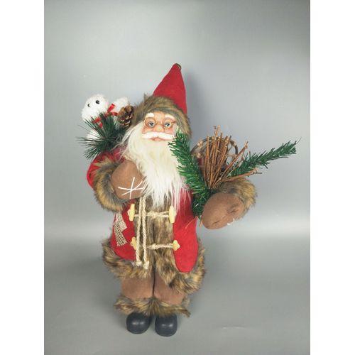 Central Park kerstman rood 45cm