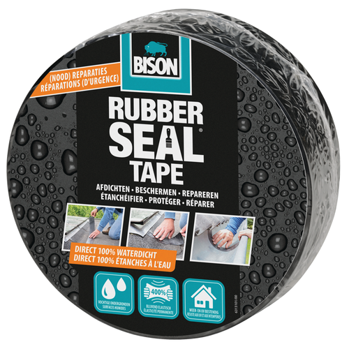 Bison reparatietape Rubber Seal direct repair
