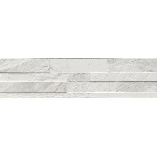 Wandtegel Gioa wit 15x61cm