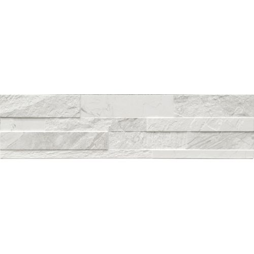 Carrelage mural Gioia blanc 15x61cm
