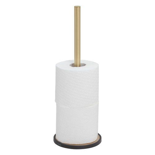 Porte-rouleau wc de réserve Tiger Tune laiton brossé à poser
