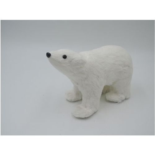 Décoration de Noël ours polaire Central Park