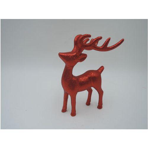 Central Park décorations de Noël cerf rouge