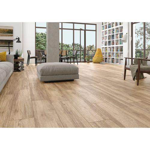 Forever tegel Roble keramisch houtimitatie 25x100cm 1,5m²