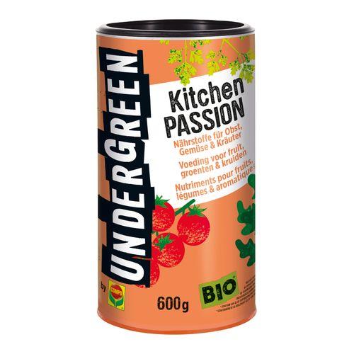 Engrais fruits légumes et herbes aromatiques Compo Undergreen Kitchen Passion 600g