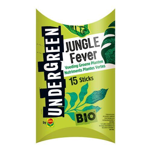 Engrais plantes vertes bio bâtonnets Compo Undergreen Jungle Fever 15pcs
