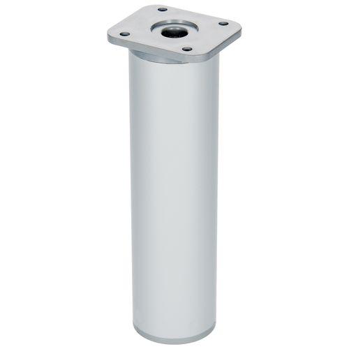 Duraline meubelpoot verstelbaar rond Aluminium Ø4x15-18cm