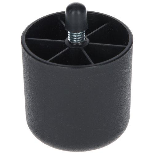 Duraline meubelglijder zwart Ø5cm
