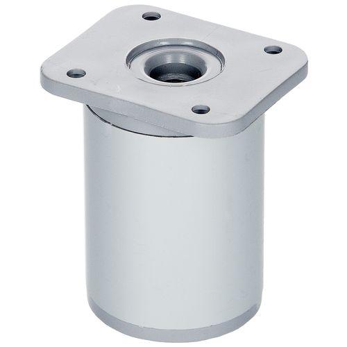 Duraline meubelpoot verstelbaar rond aluminium Ø4x6-9cm