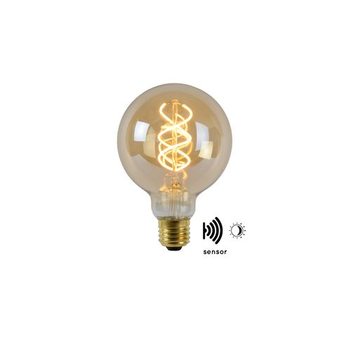 Lucide LED filament lamp Twilight Sensor 4W E27