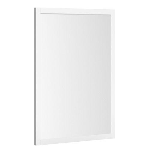 Allibert spiegel America rechthoek met kader 60cm mat wit