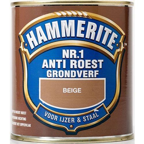 Hammerite nr. 1 anti roest mat beige 250ml