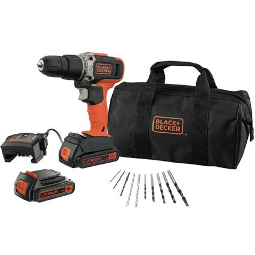 Perceuse-visseuse à percussion Black + Decker BCD003BA10S-QW 18V