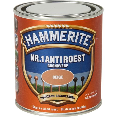 Hammerite nr. 1 anti roest mat beige 500ml