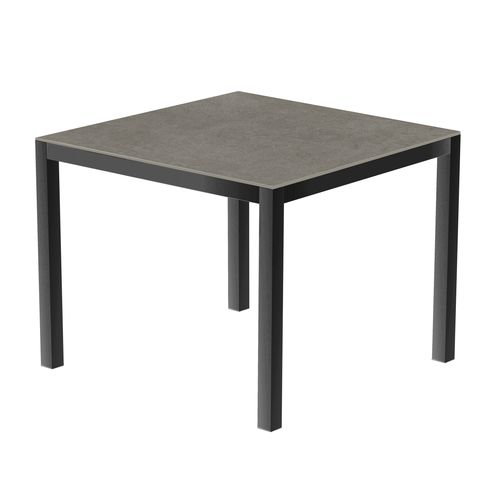 Table de jardin Coeck Uptown Dark 90x90cm aluminium anthracite