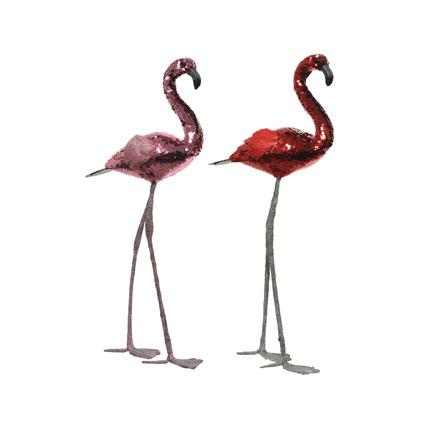 Flamingo foam glitters bordeaux/roze