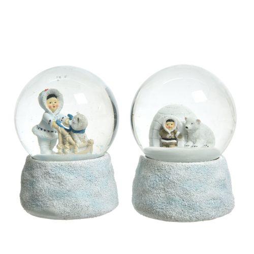 Boule a neige inuït poly