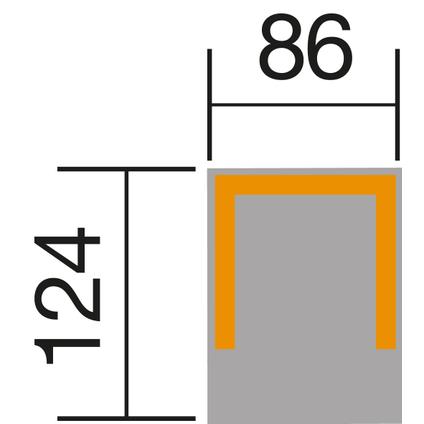 Weka berging voor robotmaaier 367A naturel 88x124x55cm