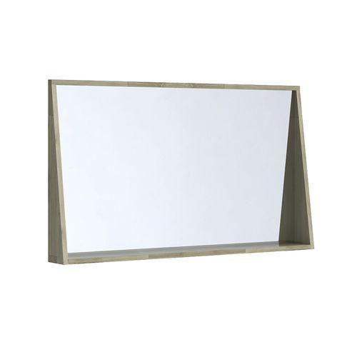 Allibert spiegel + tablet  Chelsea massief acaciahout 120cm