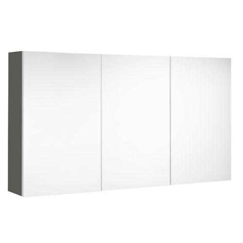 Allibert spiegelkast Look 120cm grijs mat