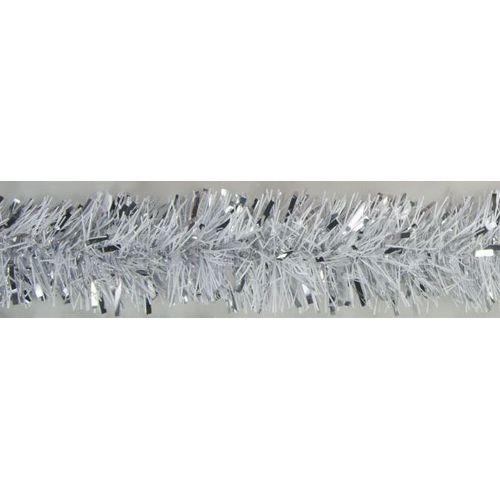Guirlande de Noël blanc / argent