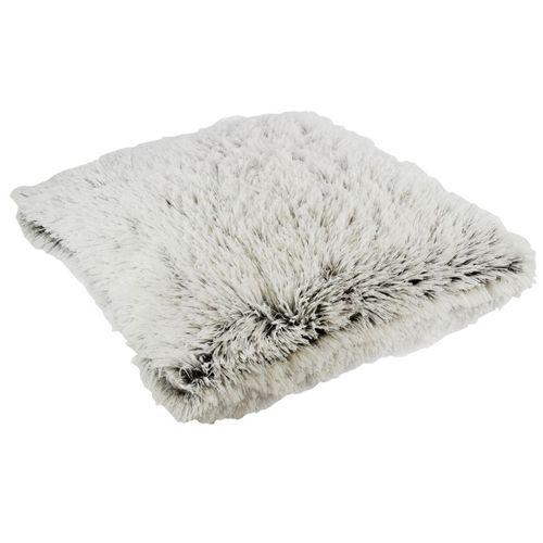 Coussin Alaska gris/blanc 45x45cm