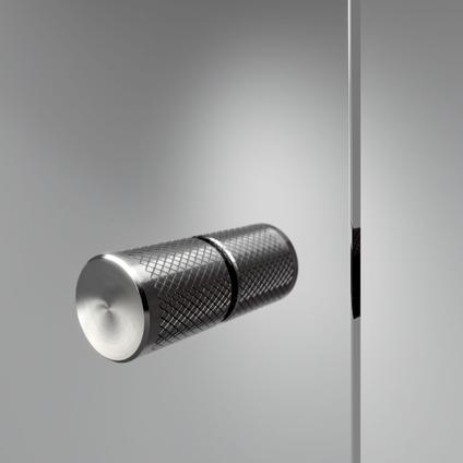 Sealskin Get Wet Contour draaideur + zijwand 100x100x200cm RVS helder veiligheidsglas 6mm