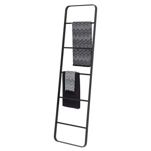 Echelle porte-serviette Sealskin Brix métal noir poudré à poser