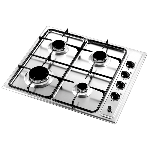 Plaque de cuisson gaz Electrum GH640X inox 60cm